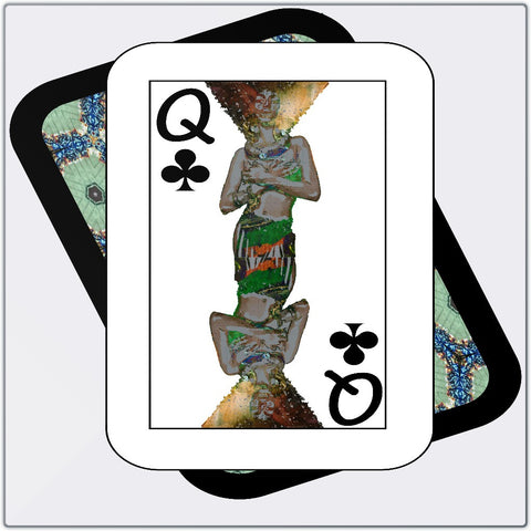 Play Your Hand...Queen Club No. 1 Metal Print