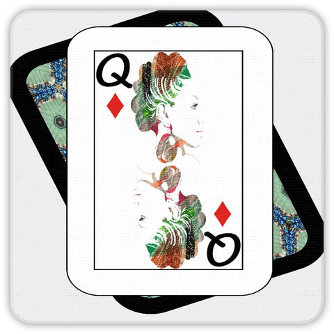 Play Your Hand...Queen Diamond No. 1 Coaster