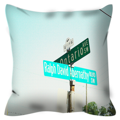 The Corner No. 1 Throw Pillow
