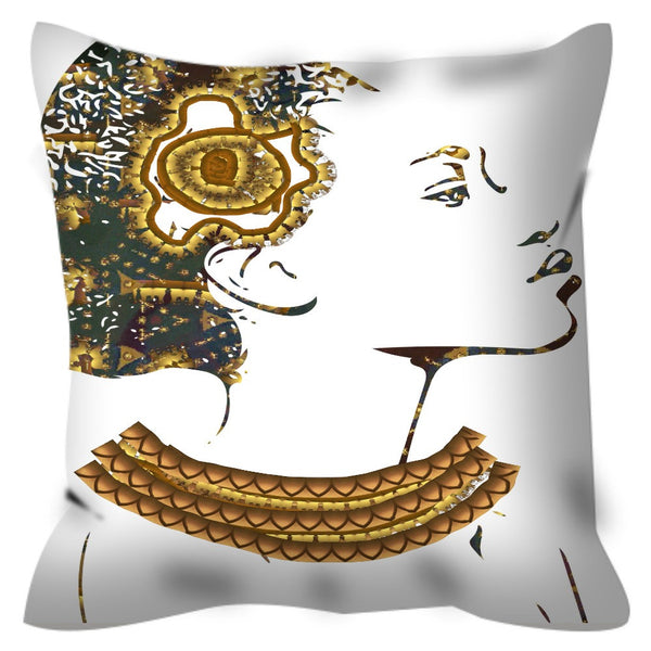 Queen Things No. 3 Throw Pillow