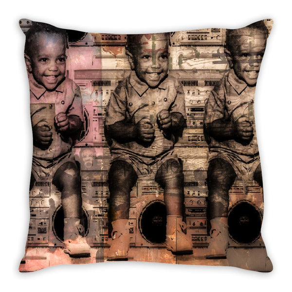 Must Be The Music Throw Pillow
