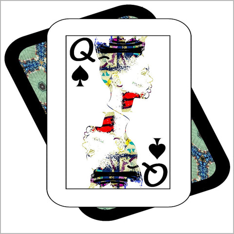 Play Your Hand...Queen Spade No. 1 Canvas Poster