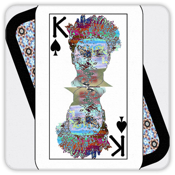 Play Your Hand...King Spade No. 2 Coaster Set