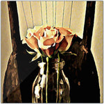 Load image into Gallery viewer, A Rose is Still a Rose Metal Print