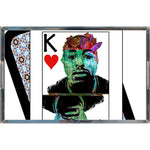 Load image into Gallery viewer, Play Your Hand...King Heart No. 2 Acrylic Tray