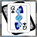 Load image into Gallery viewer, Play Your Hand...Queen Club No. 2 Acrylic Tray