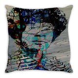 Unbought and Unbossed Throw Pillow