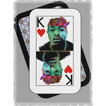 Load image into Gallery viewer, Play Your Hand...King Heart No. 2 Woven Blanket
