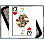 Load image into Gallery viewer, Play Your Hand...Queen Heart No. 4 Acrylic Tray
