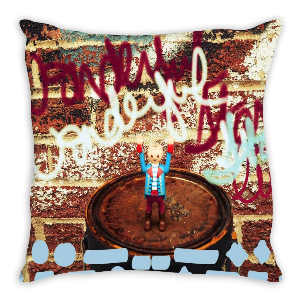 Headless Revolutionary No. 6 Throw Pillow