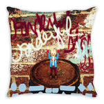 Load image into Gallery viewer, Headless Revolutionary No. 6 Throw Pillow