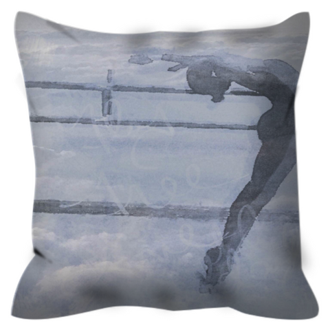 Dancing Frees My Soul Throw Pillow