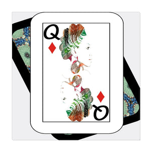 Play Your Hand...Queen Diamond No. 1 Wrapped Canvas