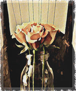 Load image into Gallery viewer, A Rose is Still a Rose Woven Blanket