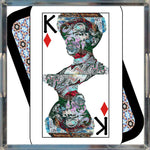 Load image into Gallery viewer, Play Your Hand...King Diamond No. 2 Acrylic Tray