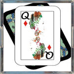 Load image into Gallery viewer, Play Your Hand...Queen Diamond No. 1 Acrylic Tray