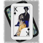 Load image into Gallery viewer, Play Your Hand...King Spade No. 1 Woven Blanket