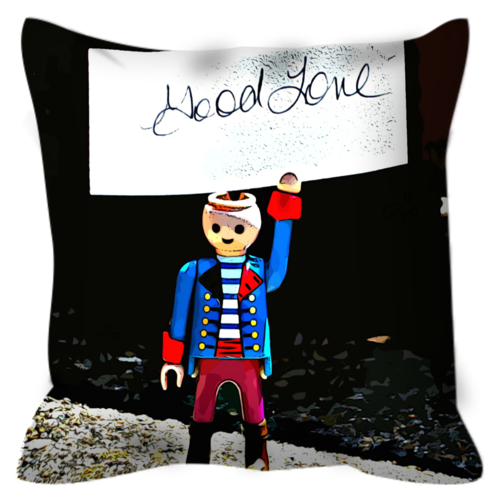 Headless Revolutionary No. 2 Throw Pillow