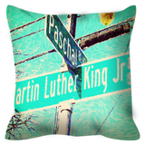 The Corner No. 3 Throw Pillow