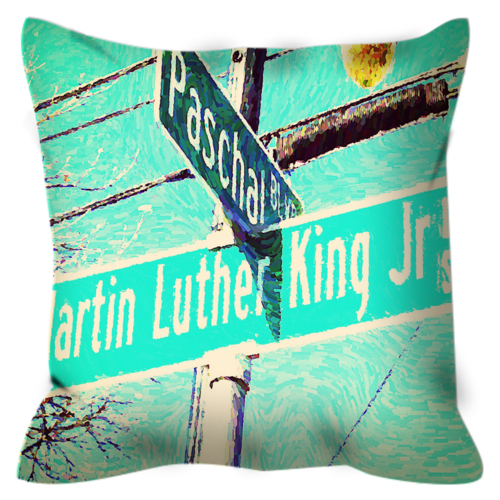 The Corner No. 3 Throw Pillow...product of the week