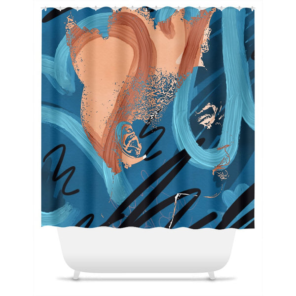 I Love You Jody No. 1 Shower Curtain