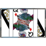 Load image into Gallery viewer, Play Your Hand...Queen Diamond No. 3 Acrylic Tray