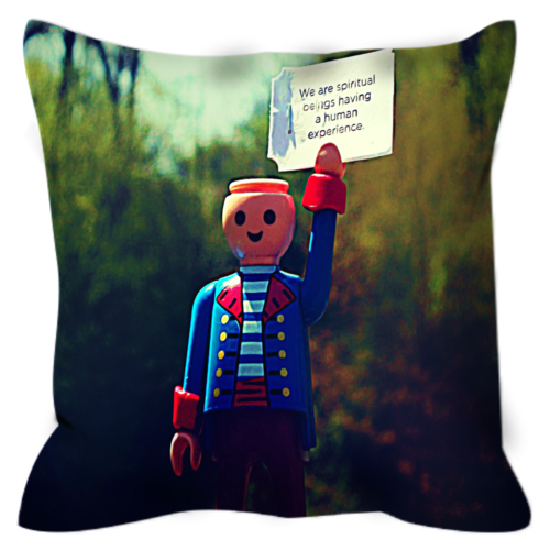 Headless Revolutionary No. 1 Throw Pillow