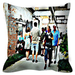Load image into Gallery viewer, Street Scene No. 3 Throw Pillow