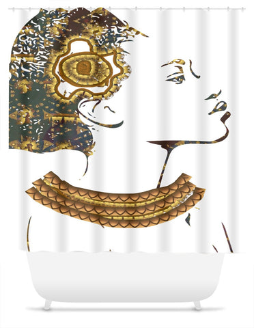Queen Things No. 3 Shower Curtain