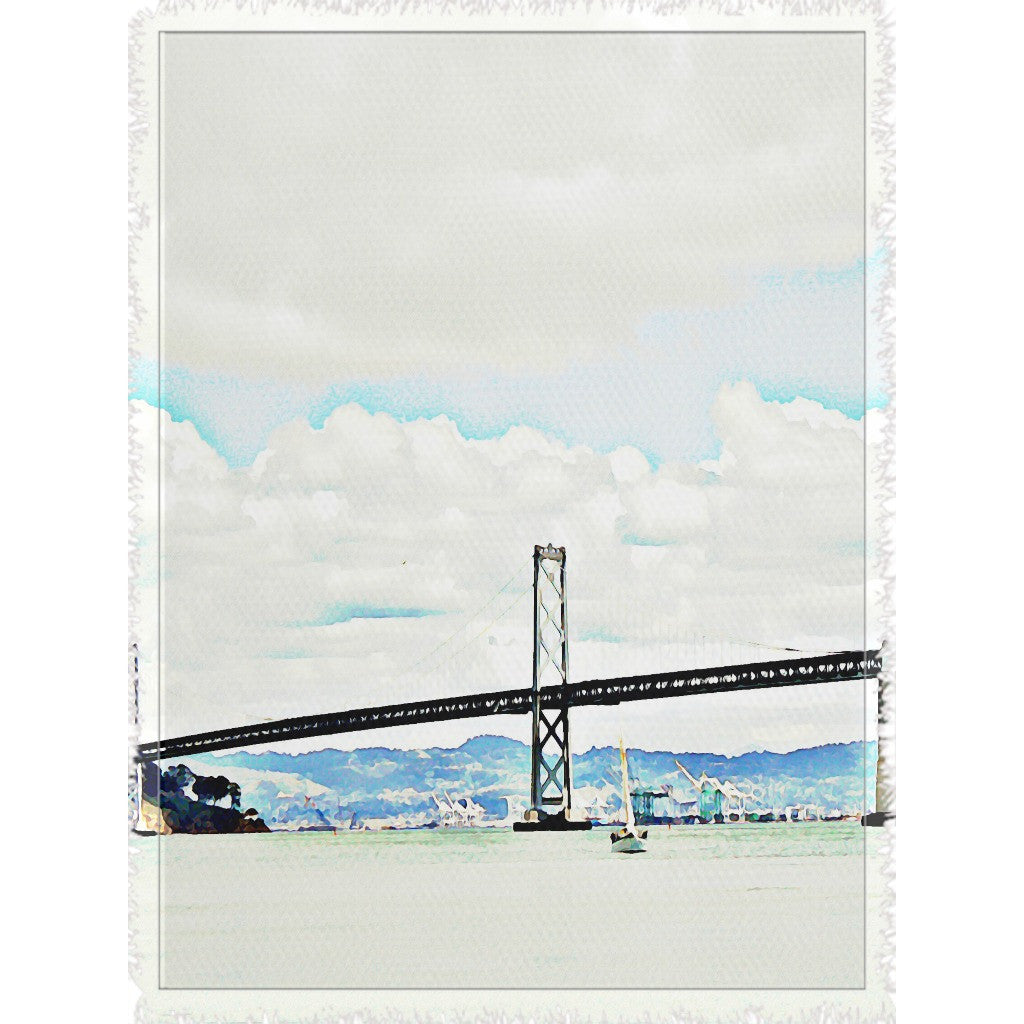 The Bridge Woven Blanket