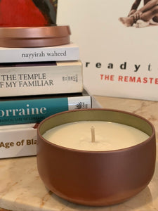 Live Soy-Coconut Wax Candle