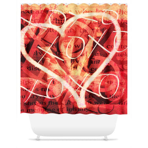 XoXo Shower Curtain