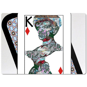 Play Your Hand...King Diamond No. 2 Glass Cutting Board