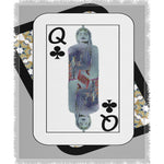 Load image into Gallery viewer, Play Your Hand...Queen Club No. 3 Woven Blanket
