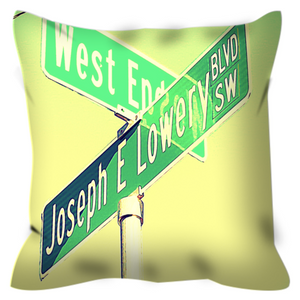 The Corner No. 4 Throw Pillow