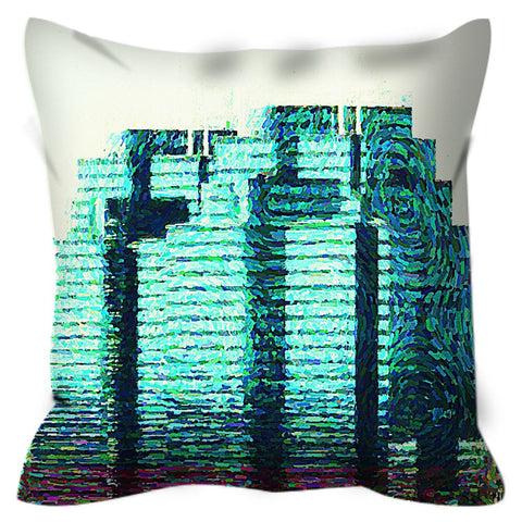 Sometimes the King is a Woman Throw Pillow