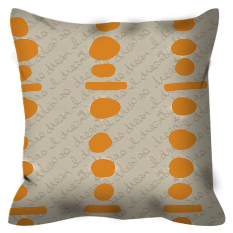 Connect the Dots Throw Pillow