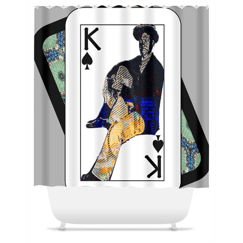 Play Your Hand...King Spade No. 1 Shower Curtain