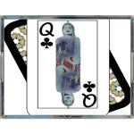 Load image into Gallery viewer, Play Your Hand...Queen Club No. 3 Acrylic Tray
