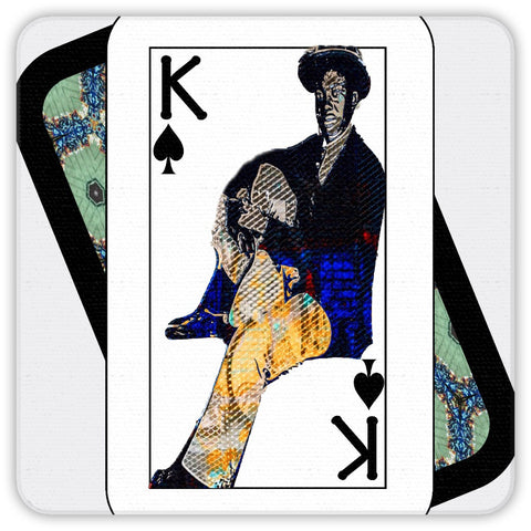 Play Your Hand...King Spade No. 1 Coaster Set