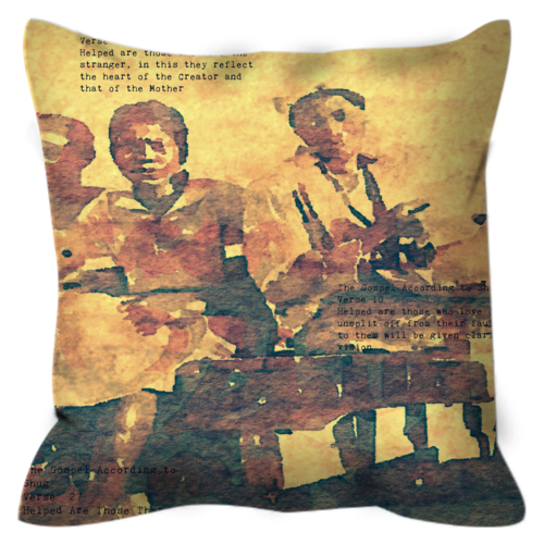 Shug Avery's Gospel Pt. 1 Throw Pillow