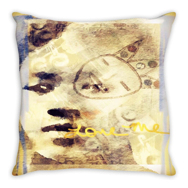 Listen to the Woman Throw Pillow