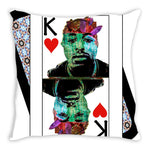 Load image into Gallery viewer, Play Your Hand...King Heart No. 2 Throw Pillow