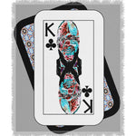 Load image into Gallery viewer, Play Your Hand...King Club No. 2 Woven Blanket