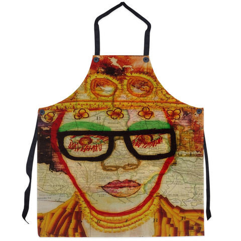 Been Around the World Apron