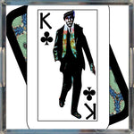 Load image into Gallery viewer, Play Your Hand...King Club No. 1 Acrylic Tray