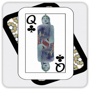 Play Your Hand...Queen Club No. 3 Coaster Set