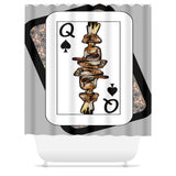 Play Your Hand...Queen Spade No. 4 Shower Curtain