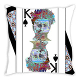 Play Your Hand...King Spade No. 2 Throw Pillow