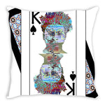 Load image into Gallery viewer, Play Your Hand...King Spade No. 2 Throw Pillow